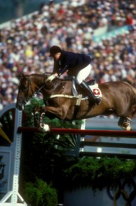 Heidi and Jessica, on their way to Olympic individual Bronze - not your typical petite rider, at a time when women were still very rare at Grand Prix level